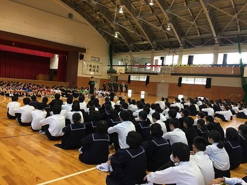 高志高等学校画像